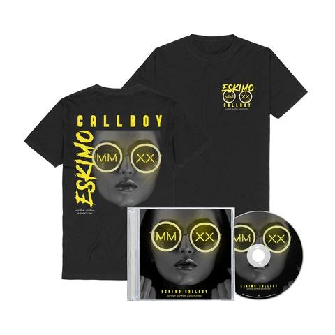 √MMXX Hypa Hypa Edition (Bundle CD + T-Shirt) von Eskimo Callboy - 1CD + T-Shirt jetzt im Eskimo Callboy Shop