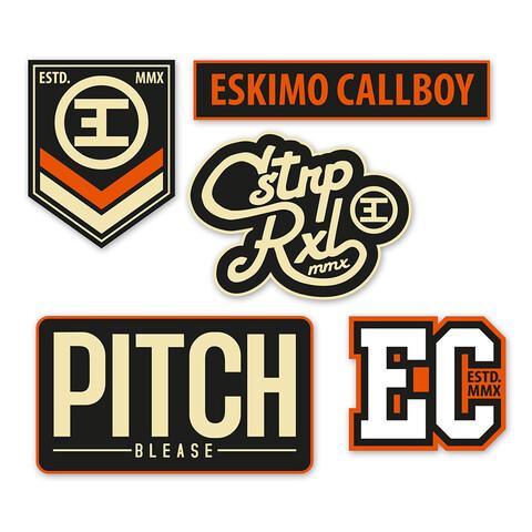 √Logos von Eskimo Callboy - Patch - Set jetzt im Eskimo Callboy Shop