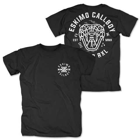 √Dead Snake von Eskimo Callboy - T-Shirt jetzt im Eskimo Callboy Shop