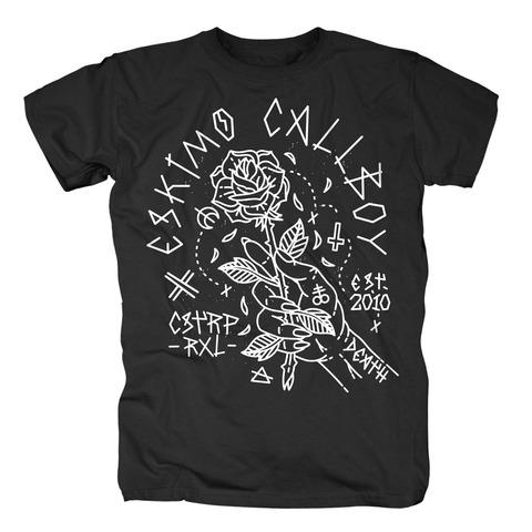 √Rose Hand von Eskimo Callboy - T-Shirt jetzt im Eskimo Callboy Shop