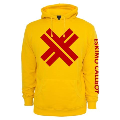 √Red X von Eskimo Callboy - Hood sweater jetzt im Eskimo Callboy Shop