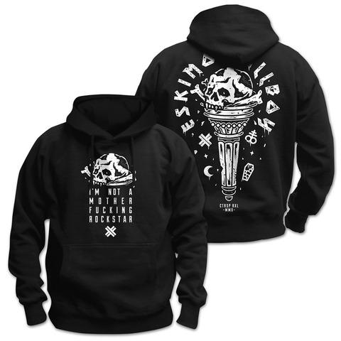 √Motherfucking Rockstar von Eskimo Callboy - Hood sweater jetzt im Eskimo Callboy Shop