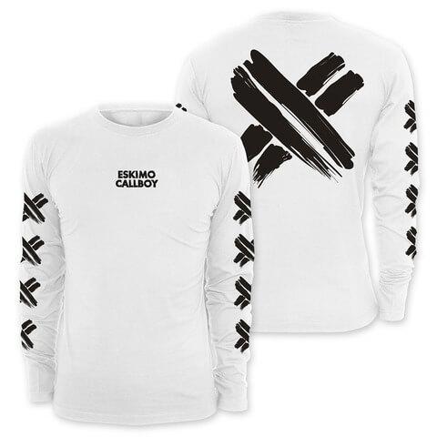 √Scratched X von Eskimo Callboy - Long-sleeve jetzt im Eskimo Callboy Shop