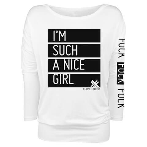 √Nice Girl von Eskimo Callboy - Girlie long-sleeve jetzt im Eskimo Callboy Shop
