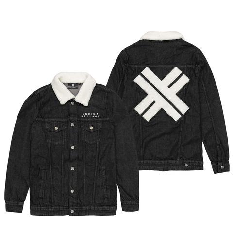 √X - Sherpa Patch von Eskimo Callboy - Sherpa Denim Jacket jetzt im Eskimo Callboy Shop