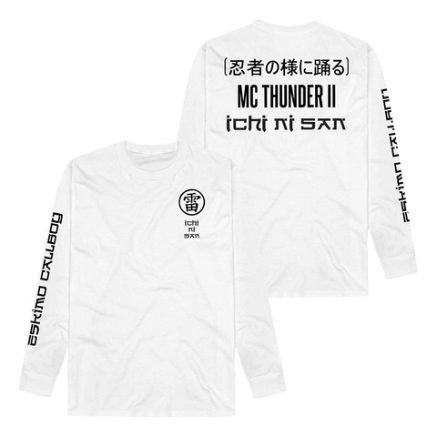 √MC Thunder II - Ichi Ni San von Eskimo Callboy - Longsleeve jetzt im Eskimo Callboy Shop