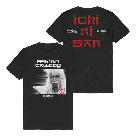 √MC Thunder II - Photo von Eskimo Callboy - T-Shirt jetzt im Eskimo Callboy Shop
