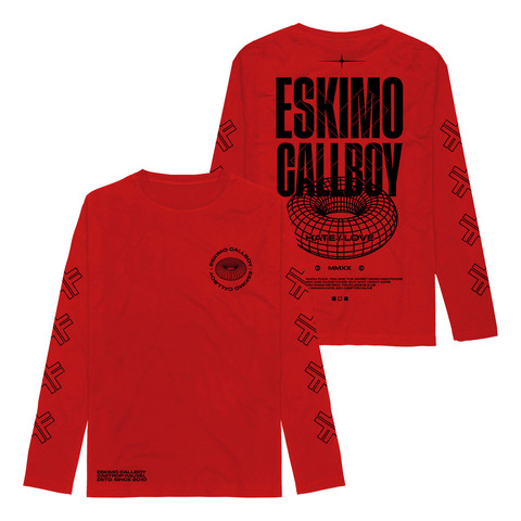 MMXX Hate Love by Eskimo Callboy - Longsleeve - shop now at Eskimo Callboy store