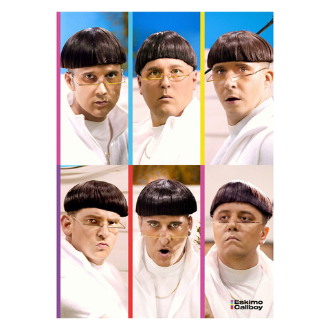 WGTM Portraits by Eskimo Callboy - Poster - shop now at Eskimo Callboy store